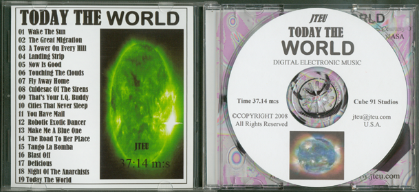 Music CD_Today the World2_by J. Frederic Teubner