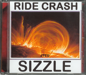 Cover_Music CD_Ride Crash Sizzle by J. Frederic Teubner